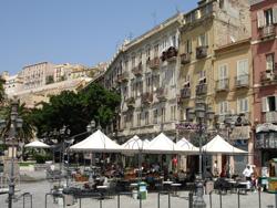 Alghero Café Altstadt