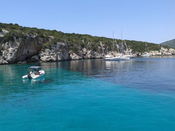 Alghero blaues Wasser