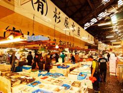 築地市場 Tsujuki - Fischmarkt