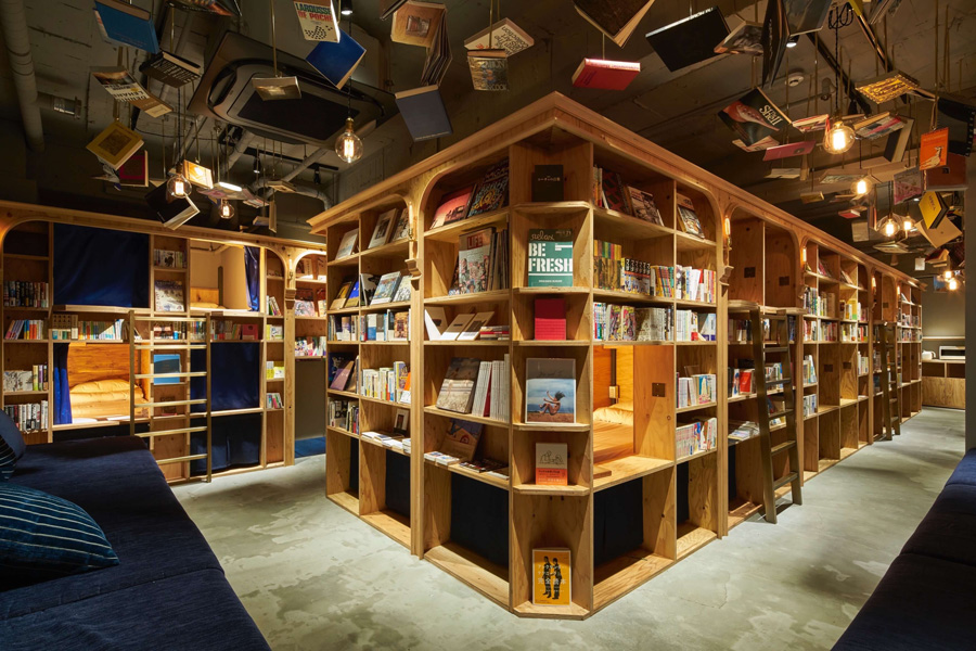 Book and Bed, Kyoto