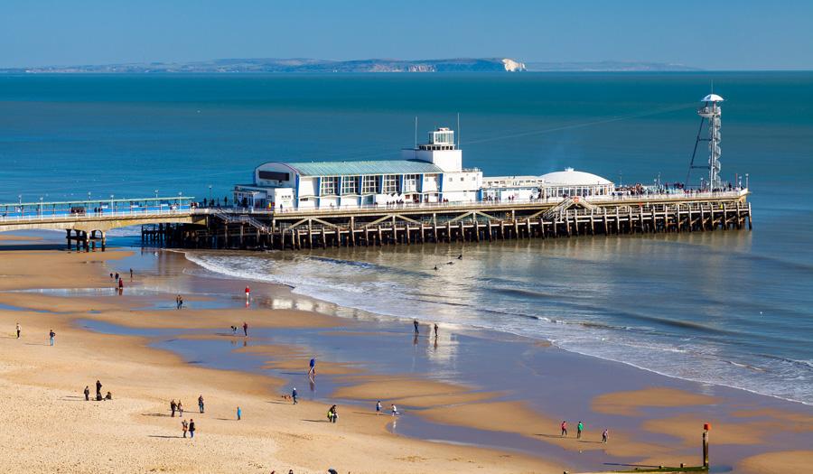 Der Pier von Bournemouth
