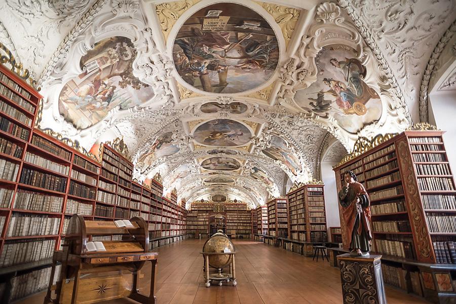 Strahov Bibliothek, Prag