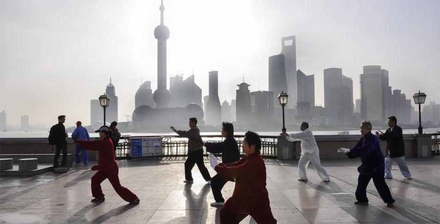 Taiji in Shanghai