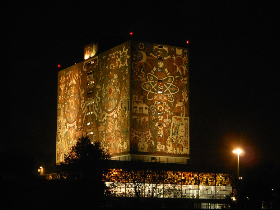UNAM Zentralbibliothek, Mexiko-Stadt