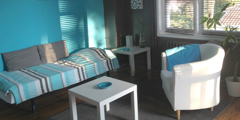 Einzelzimmer bei einem/-er Gastgeber/-in