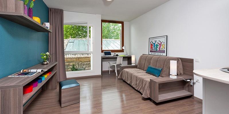 Zimmer in einem Sommerwohnheim