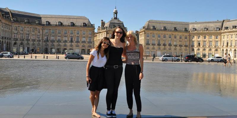 Besuch des Place de la Bourse