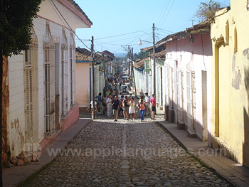 Typical street in Trinidad