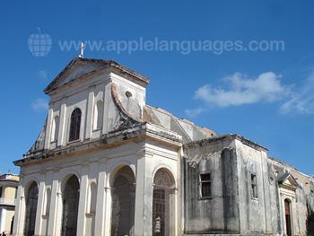 A church in Trinidad
