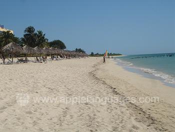 The beach in Trinidad
