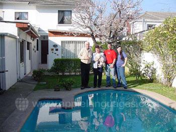 Chilean host family, Santiago