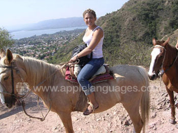 Horse riding excursion