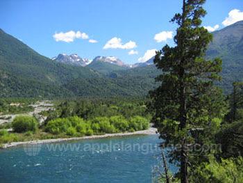 Chilean wilderness landscape