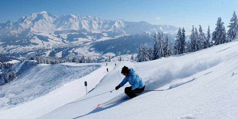 Skifahren in Annecy