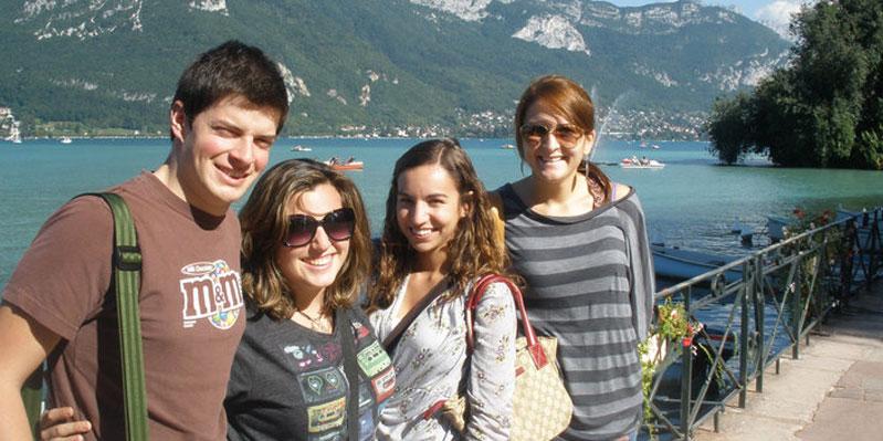 Sicht auf den Lac d' Annecy