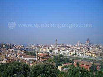 Der Blick vom Piazzale Michelangelo