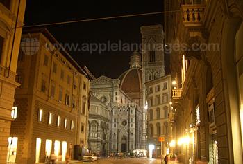 Blick auf die Kathedrale Santa Maria del Fiore, bekannt als der