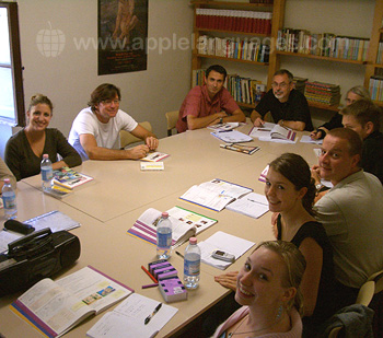 Italienischunterricht an unserer Schule in Florenz