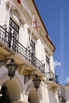 Das Rathaus von Faro