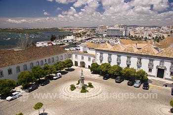 Platz der Kathedrale in Faro