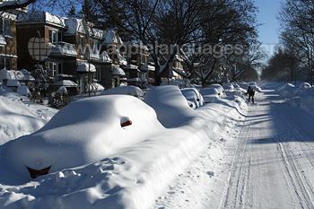 Montréal im Winter
