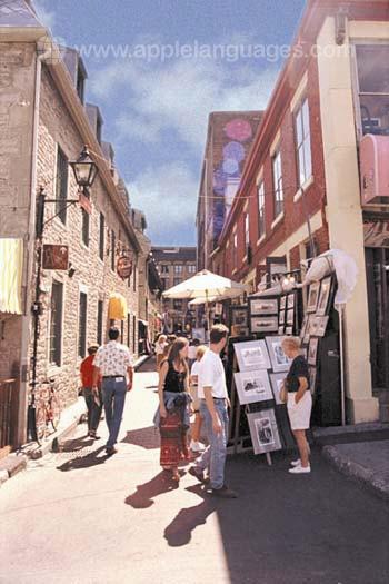 Die Altstadt von Montréal