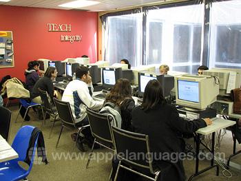 Internetcafé unserer Schule