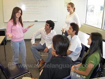 Französischklasse unserer Schule