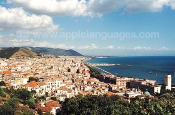 Panoramaansicht von Salerno