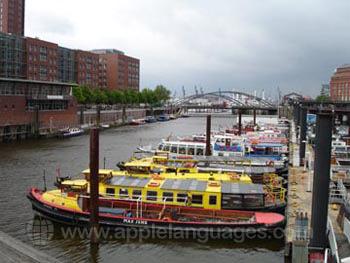 Hamburg hat zahlreiche Kanäle!
