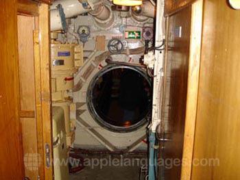 Im Inneren des U-Boots