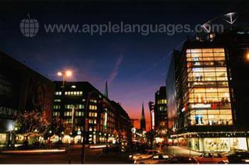 Hamburg zur Nachtzeit