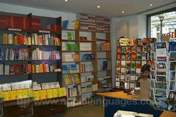 Bücherladen der Schule