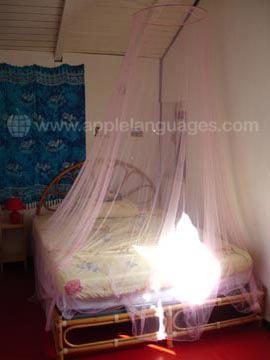 Schüler-Schlafzimmer bei einer Gastfamilie