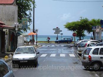 Straßenbild in Sainte Anne
