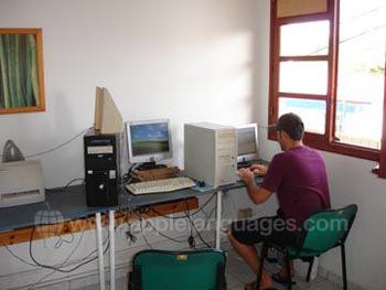 Internetcafé an unserer Schule