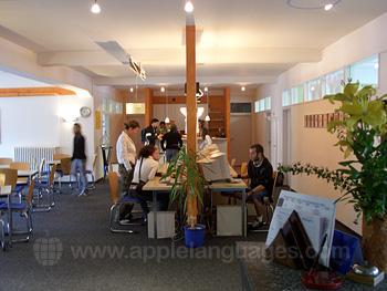 Das Internetcafé unserer Schule in Lindau