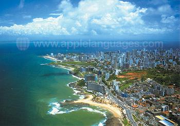 Luftaufnahme von Salvador