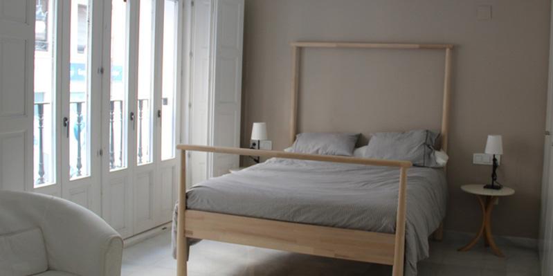 Schlafzimmer im Privatappartement