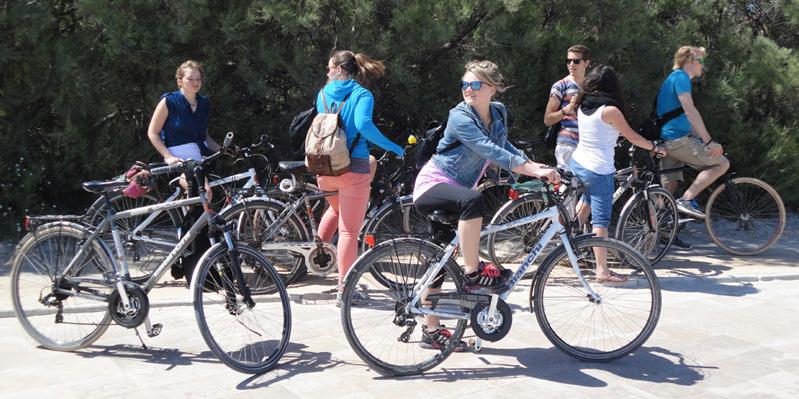 Organisierte Radtour
