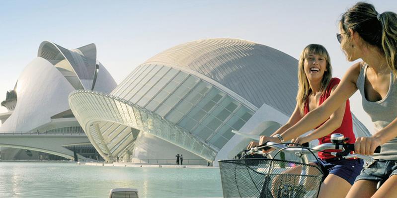 Die Stadt der Künste und Wissenschaften