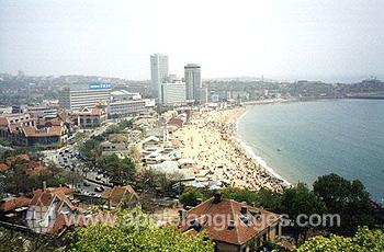 Panorama of Qingdao