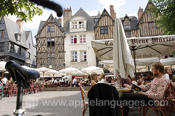 Entspannen im Stadtzentrum von Tours