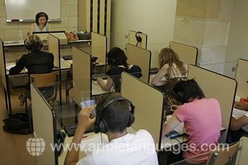 Das Multimediazentrum der Schule