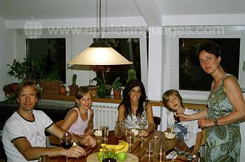 Deutsche Gastfamilie