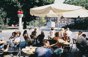 Café-Kultur in Münster
