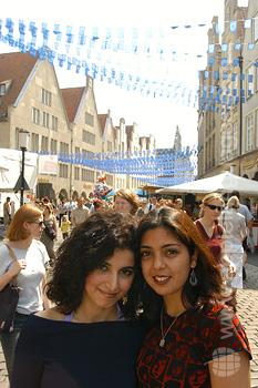 Schüler erkunden Münster