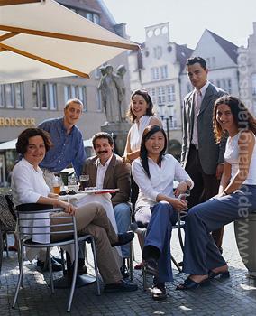 Unsere Schüler in Münster