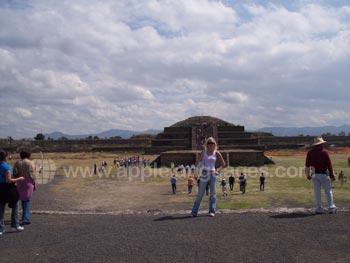 Visit to Aztec site