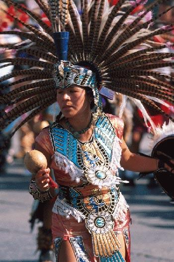Aztec ceremony